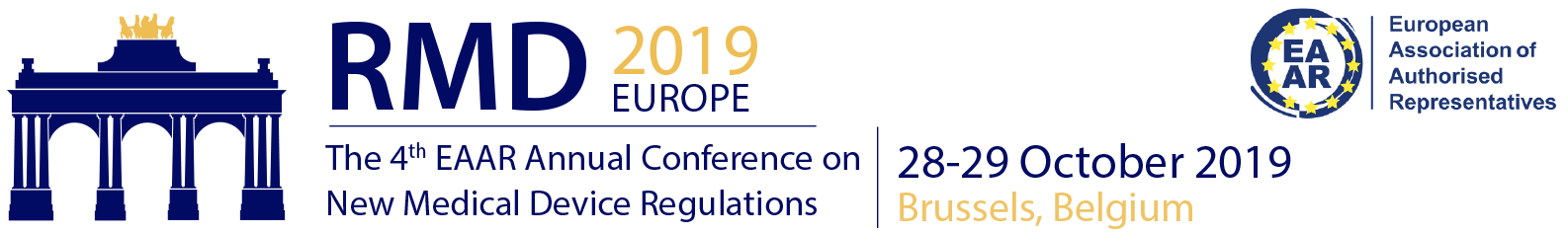 The 3rd European Symposium on the New Agreed Regulations on Medical Devices (RMD2018)